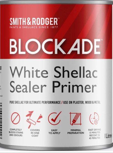 Blockade shellac primer
