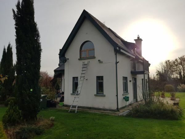 painting varnished window frames